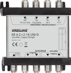Produktbild KR 4-2+2-16 UNI-D