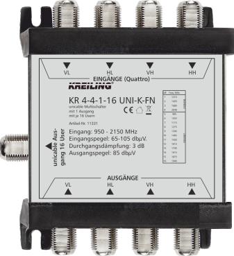 Produktbild KR 4-4-1-16 UNI-K-FN
