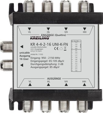 Produktbild KR 4-4-2-16 UNI-K-FN