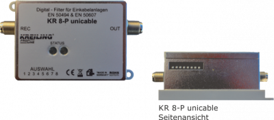 Produktbild KR 8-P unicable