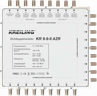 Produktbild KR 9-9-9 AZR