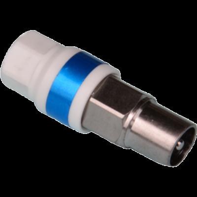 IEC-Kompressionsstecker